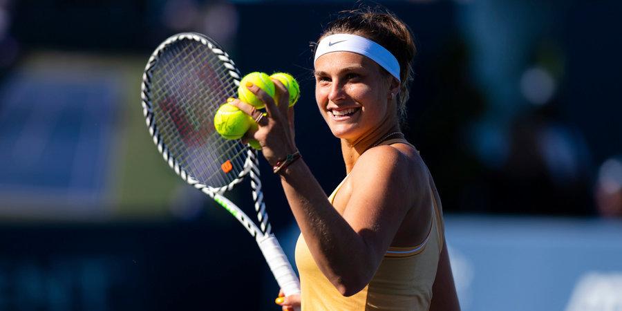 Соболенко вышла в финал турнира в Линце, где сыграет с Мертенс