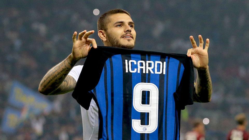 «Интер» разгромил «Лацио» благодаря дублю Икарди