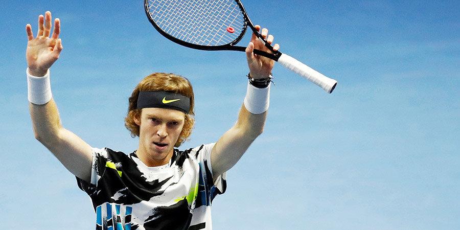 Рублев вышел в четвертьфинал турнира в Вене на отказе соперника