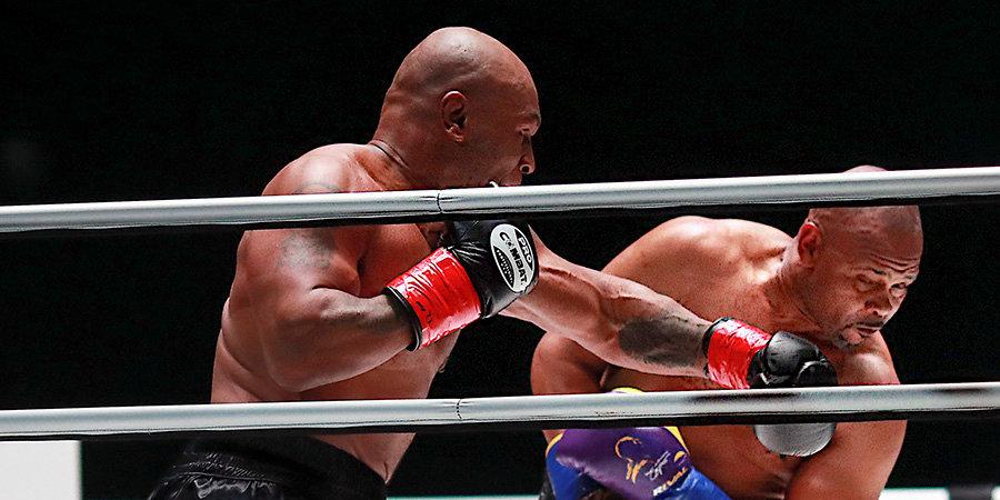 Майк Тайсон недоволен решением судей в бою с Роем Джонсом. Как прошли восемь раундов