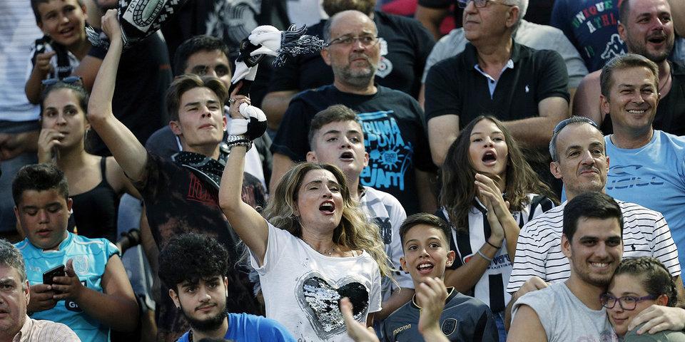 Более девяти тысяч болельщиков пришли в фан-зону на стадионе «Санкт-Петербург»
