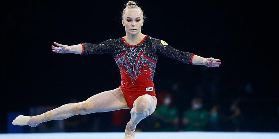 «Когда наскакивала на брусья, то не знала, чего ждать». Мельникова выиграла квалификацию на ЧЕ после полуторагодовой паузы