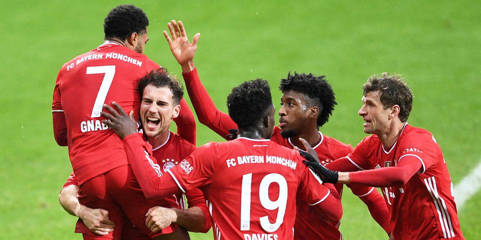 «Бавария» повторила рекорд клубов из топ-5 лиг по количеству чемпионств подряд