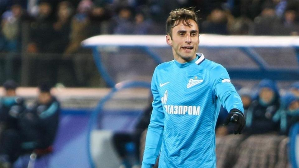 «Зенит» объявил о расторжении контракта с Маурисио