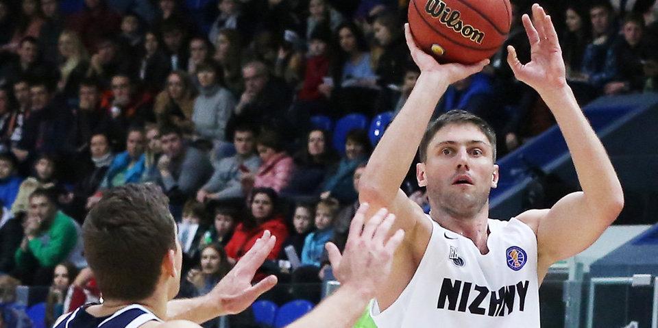 «Нижний Новгород» потерпел второе поражение в Лиге чемпионов