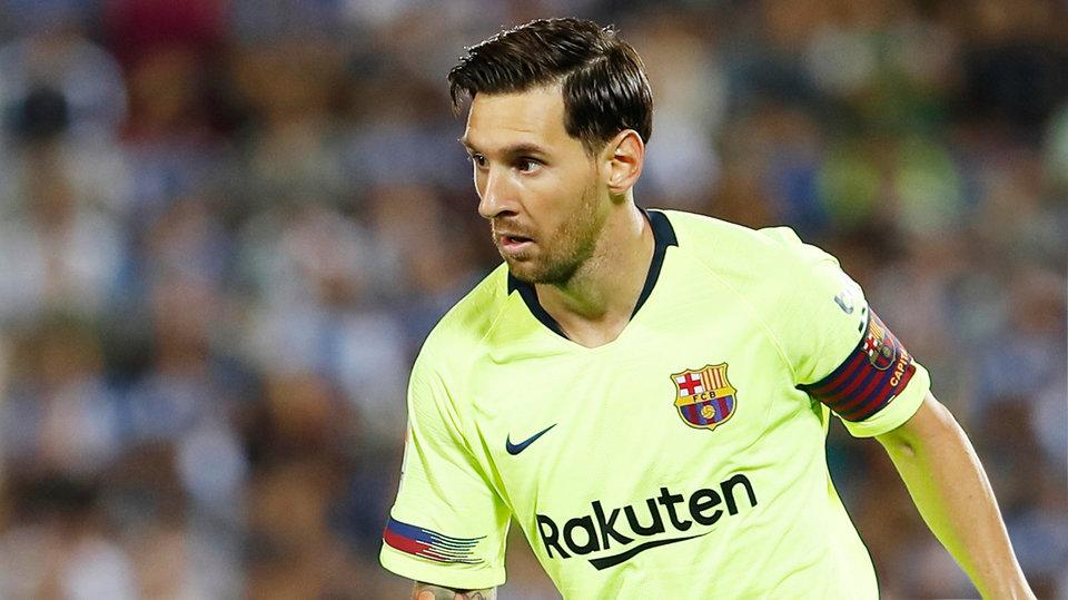 «Барселона» показала тренировку глазами Месси