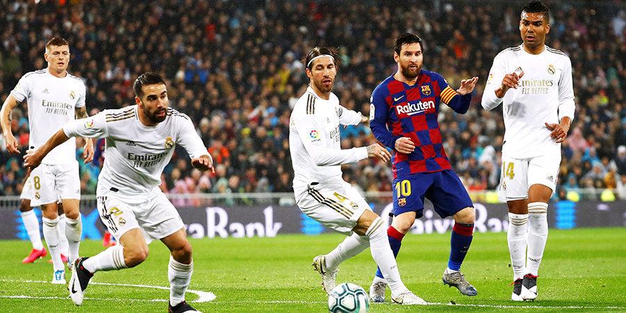 «Реал» и «Барселона» поздравили друг друга с Новым годом и загадали одинаковое желание