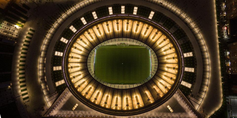 Угадаешь ли ты российский стадион по снимку из космоса? Тест «Матч ТВ»