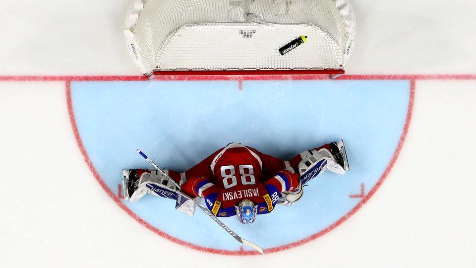 Ворота нашего хоккея защищают два Васи. И два Боба. Еженедельный рейтинг «Матч ТВ»