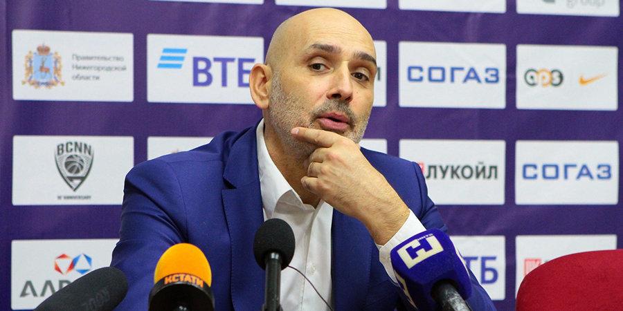 Зоран Лукич — об игре с «Химками»: «Мы прекрасно знаем, кто на бумаге фаворит в этом матче»