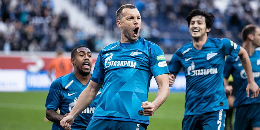 Кузяев — в стартовом составе «Зенита» на матч с «Крыльями Советов»