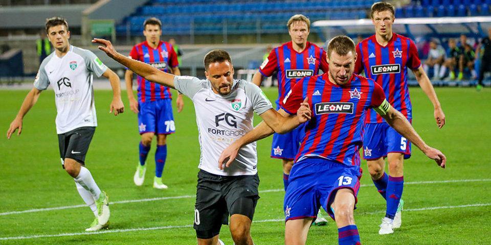 Что Слава КПСС увидел на матче «Тосно» — «СКА Хабаровск». Главные моменты