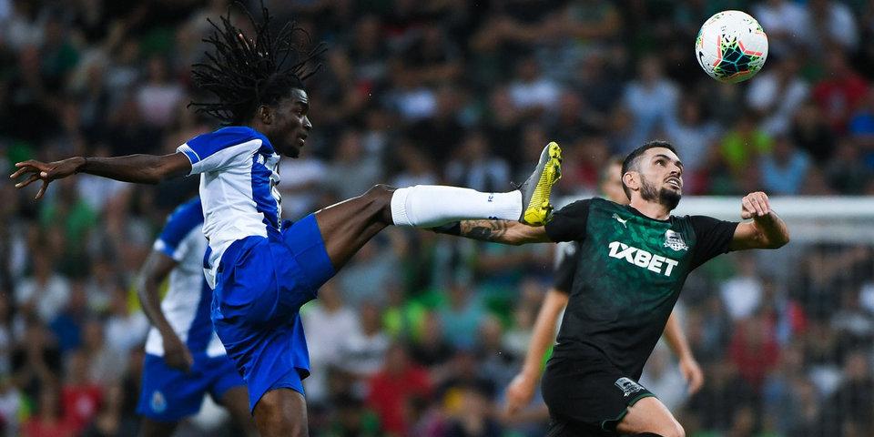 «Краснодар» провалился на 88-й минуте матча с «Порту». И дело не в Спайиче