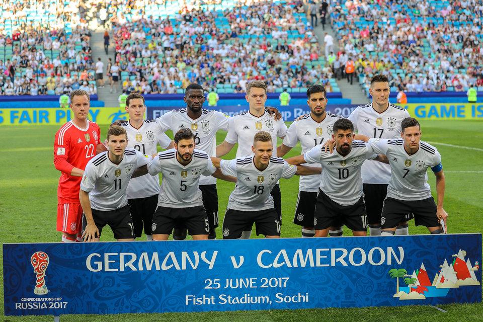 Перед Германией поставлена цель выиграть чемпионат мира-2018