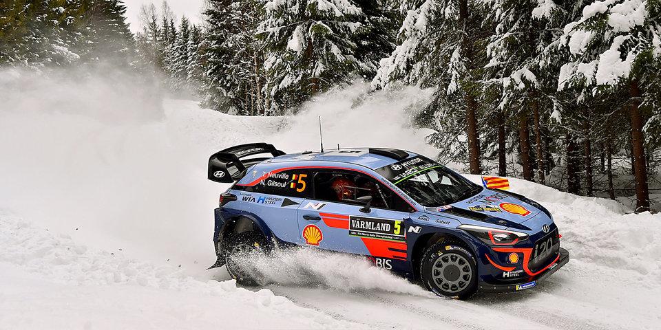 Невилль выиграл этап WRC в Швеции