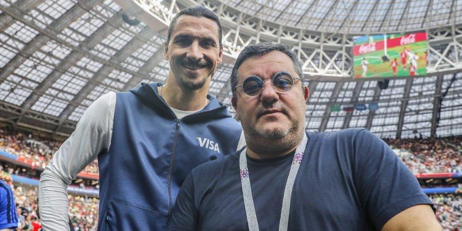 Мино Райола: «Ибрагимович легко может отыграть еще пять лет»