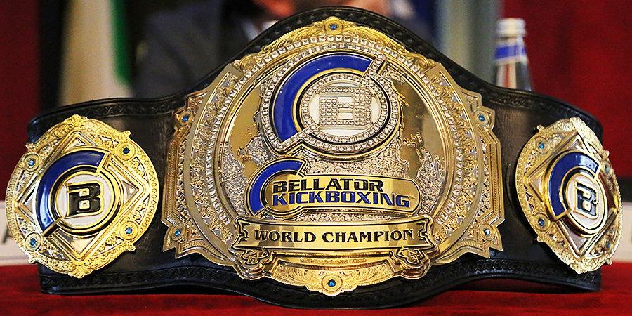 Bellator проведет бой за временный чемпионский пояс в тяжелом весе