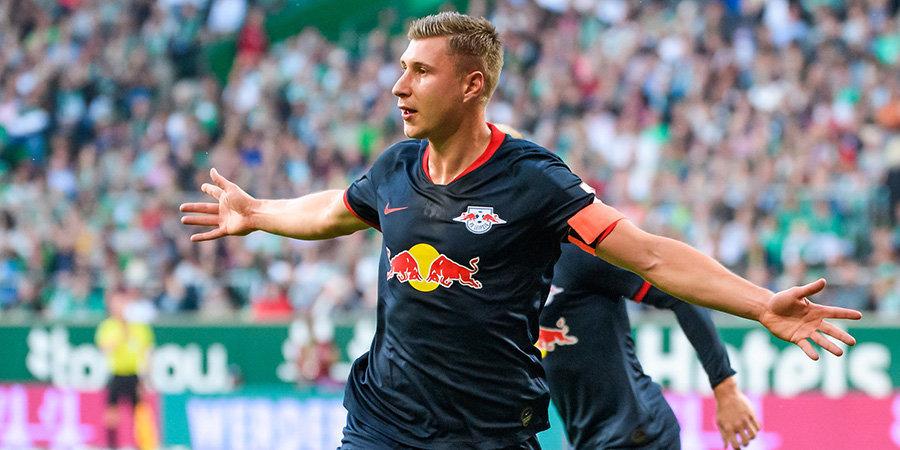 «Лейпциг» забил 6 голов «Вольфсбургу» и вышел в 1/8 финала Кубка Германии