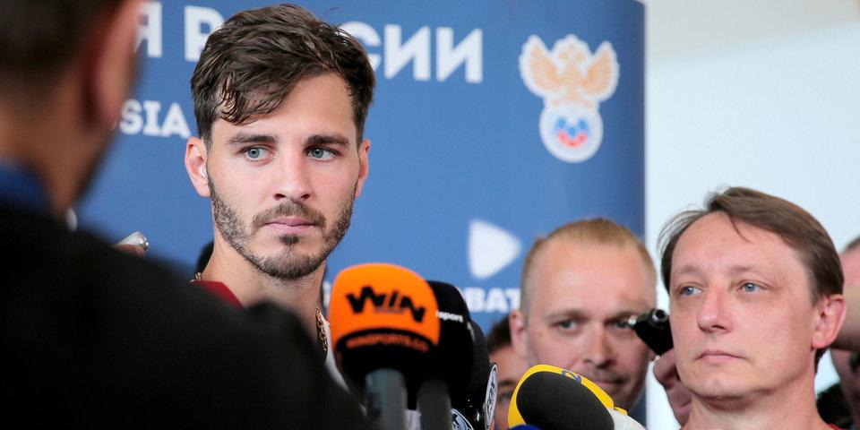 Ерохин покинул расположение сборной России