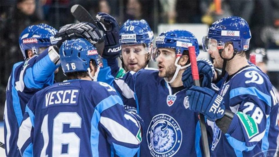 Минское «Динамо» оказалось сильнее рижан в овертайме