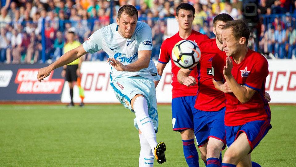 «Зенит» победил СКА в первом матче РФПЛ под руководством Манчини