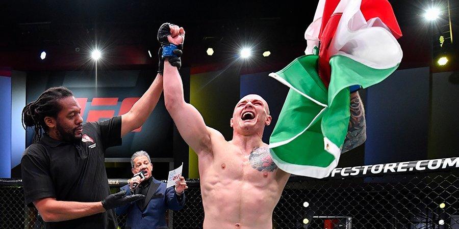 Веттори победил Херманссона на UFC Vegas 16, Долидзе одолел Аллана