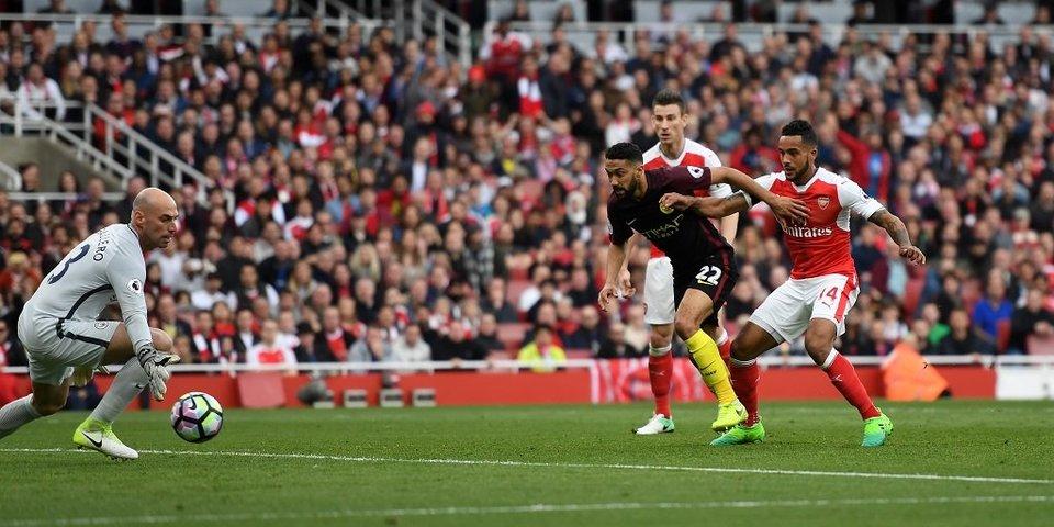 «Арсенал» – «Манчестер Сити» – 2:2: голы и лучшие моменты