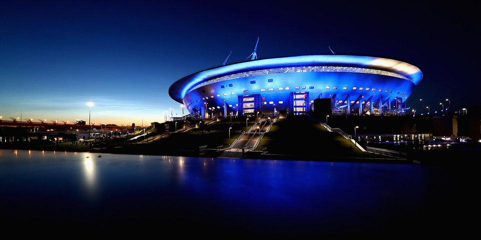 Протечка крыши стадиона в Санкт-Петербурге будет устранена по гарантии генподрядчика
