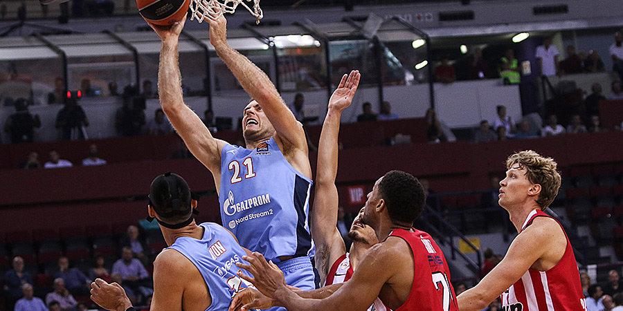 «Зенит» одержал первую победу в Евролиге, обыграв в овертайме «Олимпиакос»