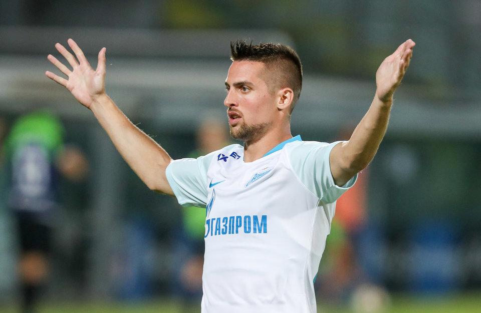 Сергей Семак: «Замена Ерохина связана с травмой игрока»