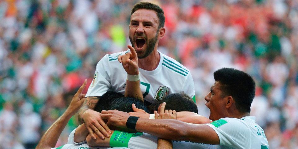 Юбилейный гол Чичарито принес Мексике вторую победу на ЧМ-2018