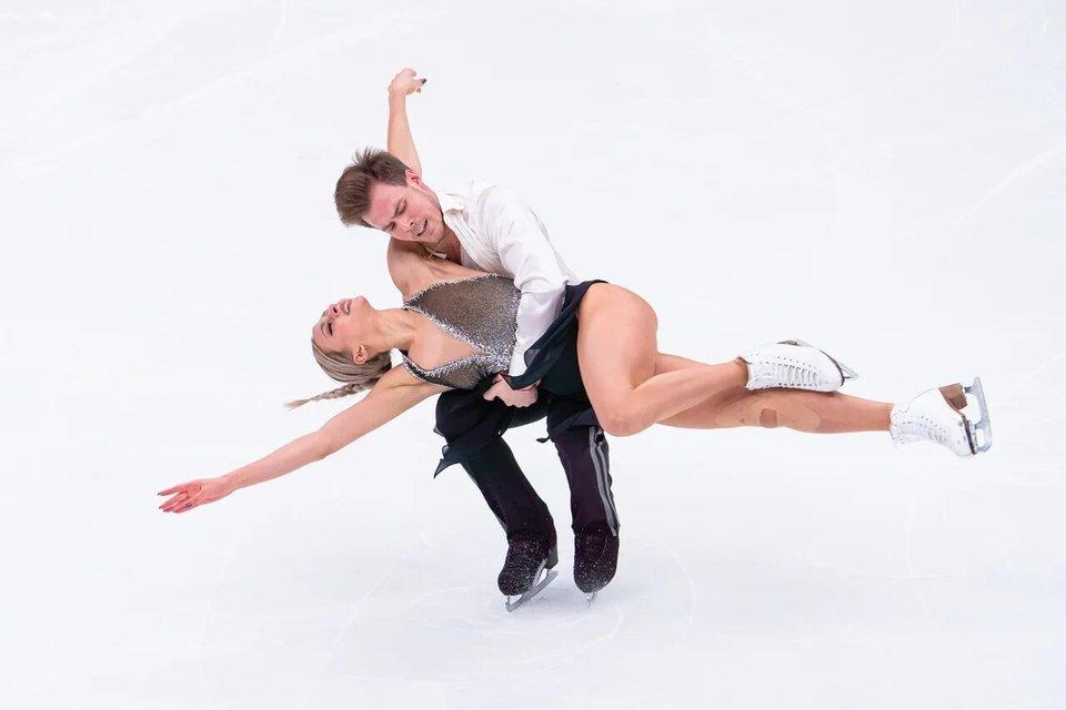 Синицина и Кацалапов подвели итоги ритм-танца на Гран-при в Москве