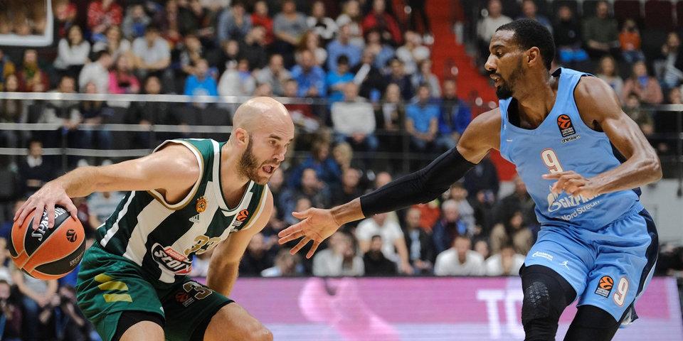 «Панатинаикос» объявил о вспышке COVID-19 перед матчем Евролиги с «Зенитом»