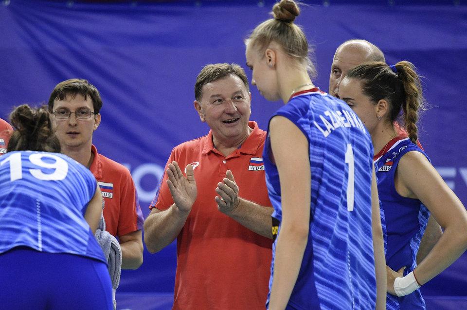 Назван состав женской сборной России на чемпионат Европы