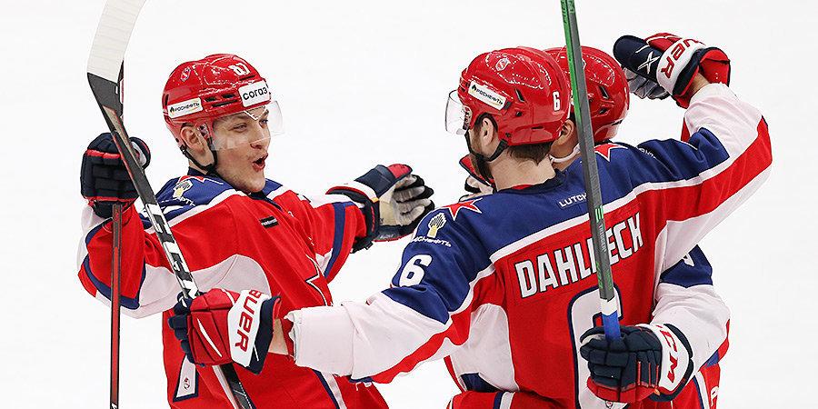 ЦСКА обыграл «Спартак» в рекордном матче Знарка и увеличил преимущество в серии