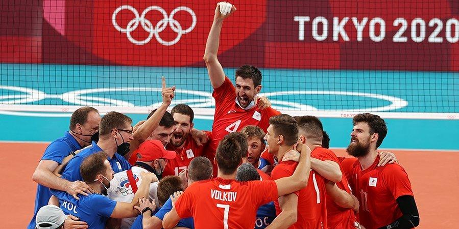 Вячеслав Красильников: «Рады, что волейболисты-классики вышли в финал ОИ, мы болели за них»