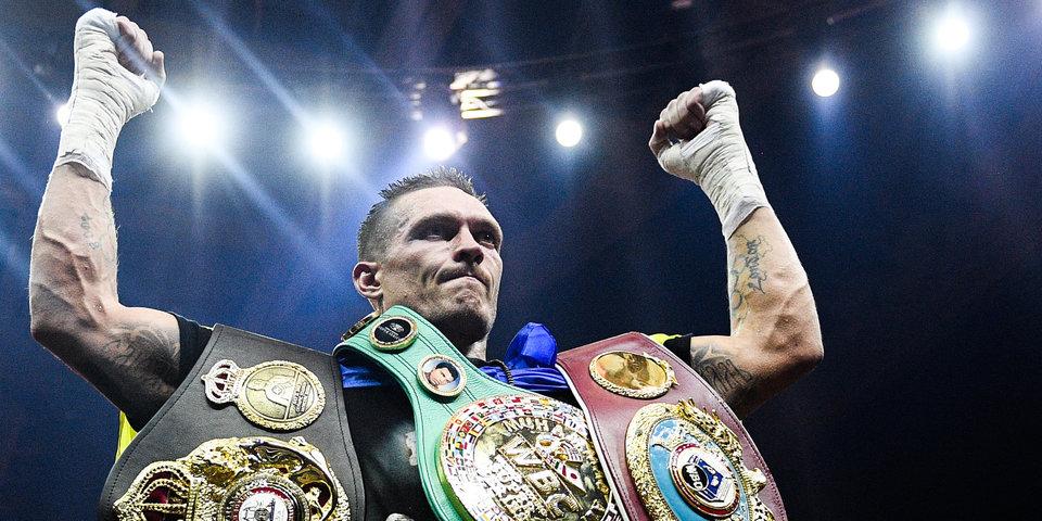Усик отказался от титула WBA, боя с Лебедевым и переходит в супертяжи. Пояса в боксе становятся украшениями