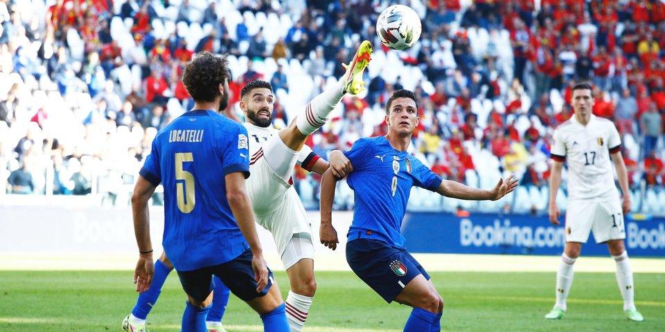 Италия завоевала бронзовые медали Лиги наций