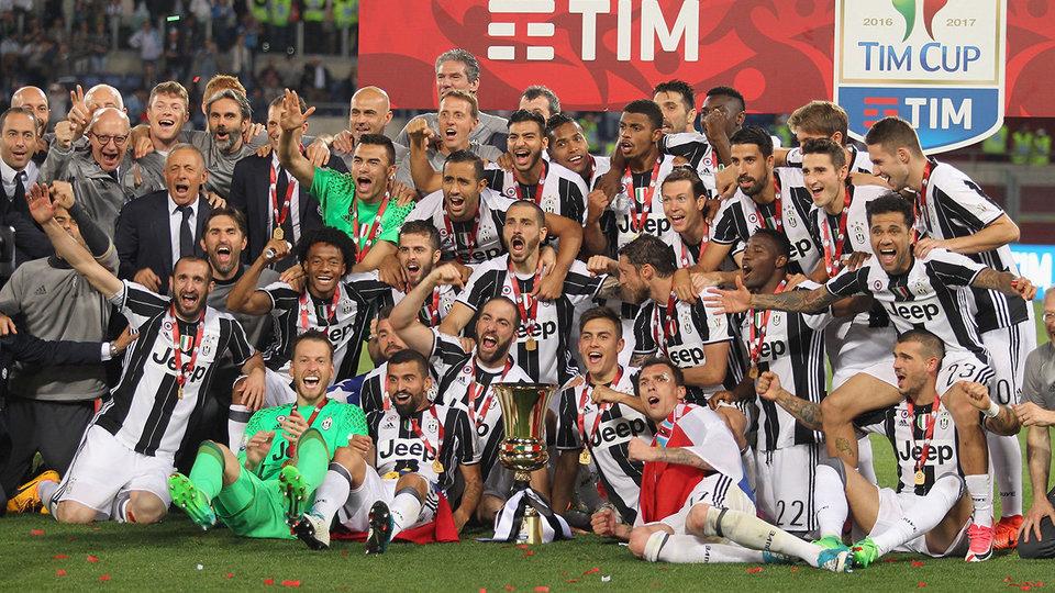 «Ювентус» – 12-кратный обладатель Кубка Италии