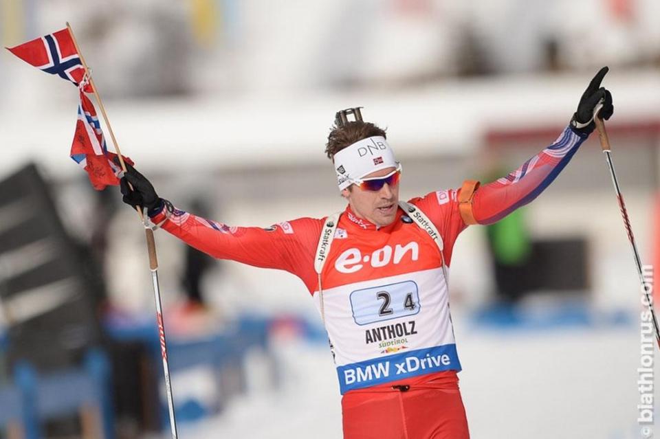Норвежцы вырвали у России победу на финише эстафеты