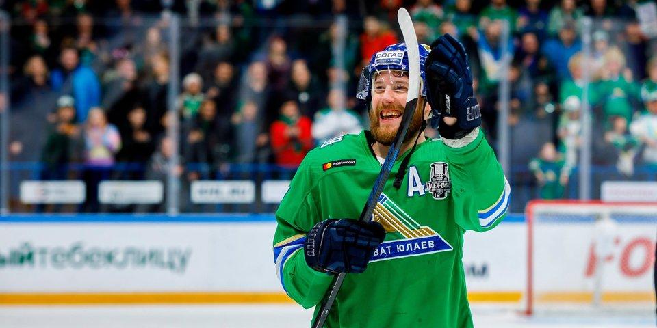 Шайба Кемппайнена принесла «Салавату Юлаеву» победу над «Автомобилистом» в первом матче серии
