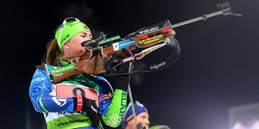 Алимбекова после победы в спринте дала совет российским биатлонисткам