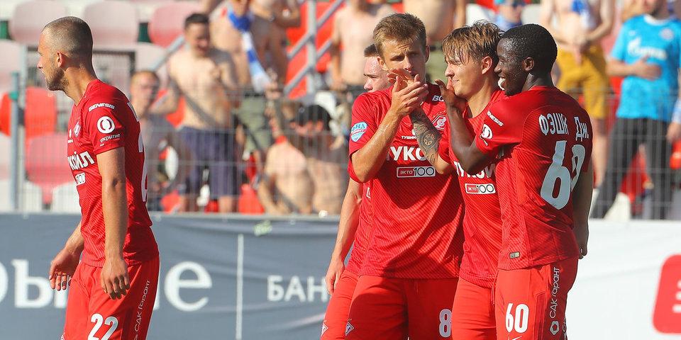 Молодежка «Спартака» отправила четыре мяча в ворота «Ахмата»