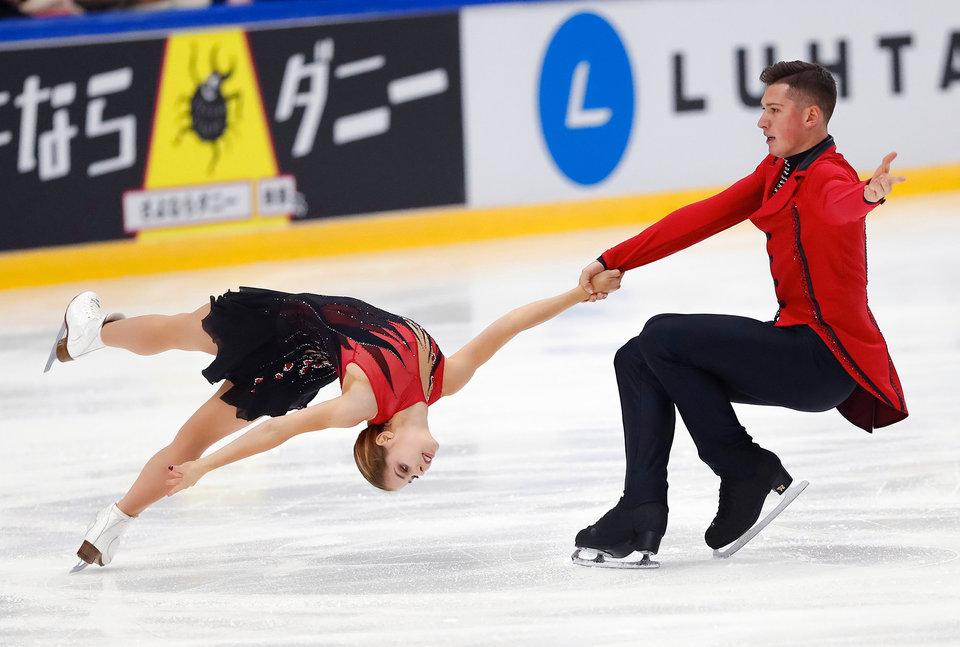 Мишина и Галлямов завоевали бронзу в финале Гран-при