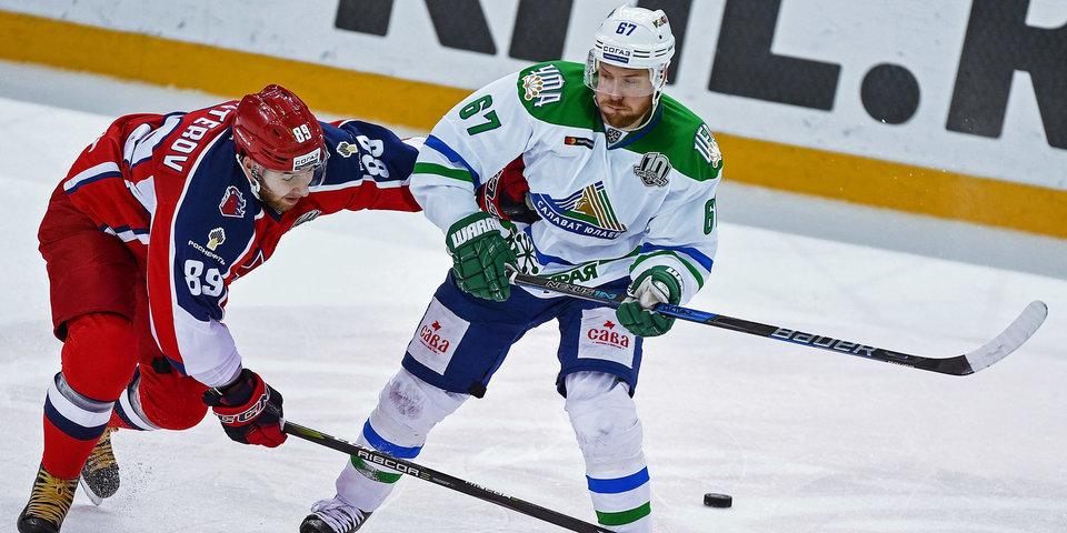 Звание тройки сезона в КХЛ ушло к хоккеистам из «Салавата»