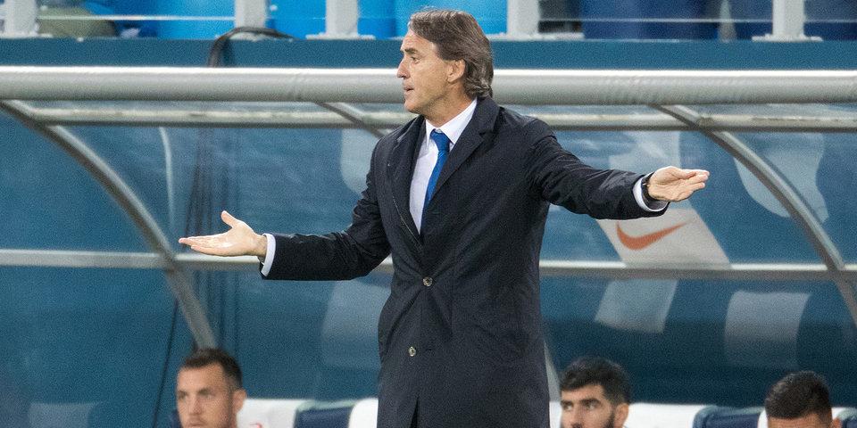 Роберто Манчини: «После поражения в Кубке «Зенит» обязан был побеждать»