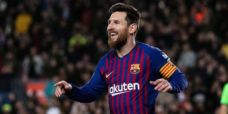 Месси вышел на второе место по количеству матчей за «Барселону» в примере
