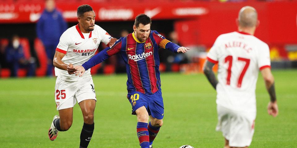 «Барселона» разгромила «Севилью» и вышла в финал Кубка Испании