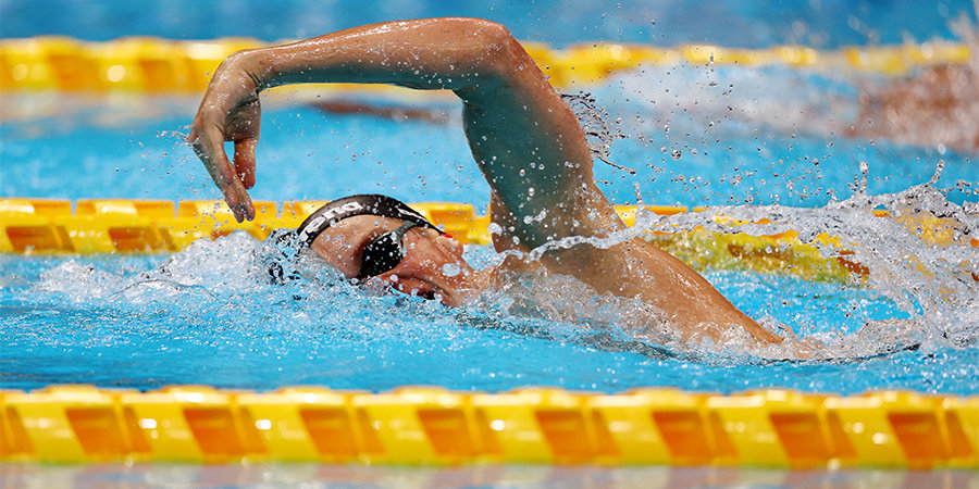 Граничка с мировым рекордом выиграл 100 метров брассом на Паралимпиаде