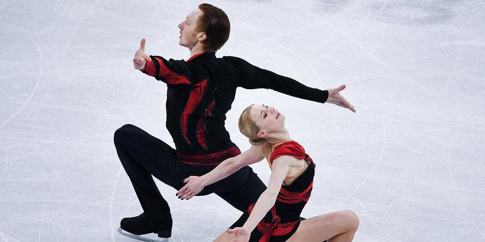 Тарасова и Морозов выиграли Гран-при России в соревнованиях спортивных пар